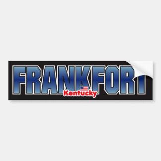 Parachoque de Frankfort Pegatina Para Auto
