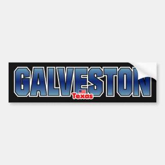 Parachoque de Galveston Pegatina Para Auto