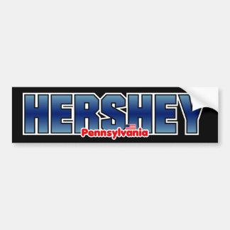Parachoque de Hershey Pegatina Para Auto