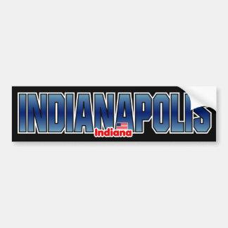 Parachoque de Indianapolis Pegatina Para Auto