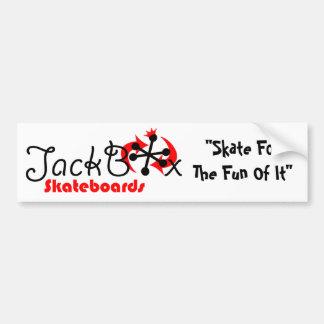Parachoque de JackBox Pegatina Para Auto