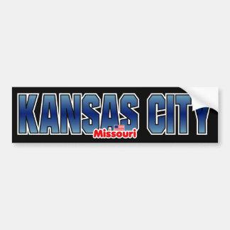 Parachoque de Kansas City Pegatina Para Auto