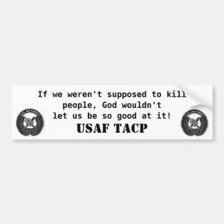 Parachoque de la gente de la matanza pegatina de parachoque