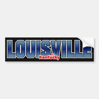 Parachoque de Louisville Pegatina Para Auto