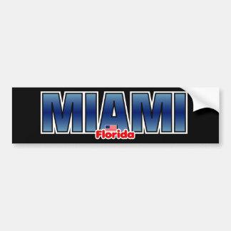 Parachoque de Miami Pegatina Para Auto
