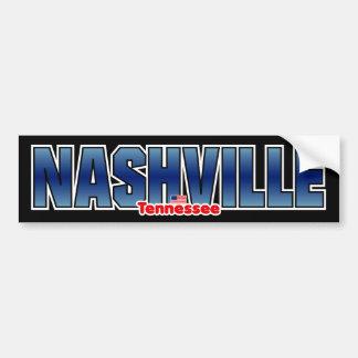 Parachoque de Nashville Pegatina Para Auto