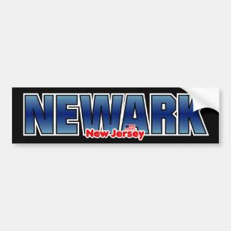 Parachoque de Newark Pegatina De Parachoque