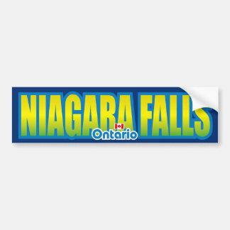 Parachoque de Niagara Falls Etiqueta De Parachoque