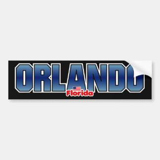 Parachoque de Orlando Pegatina Para Auto