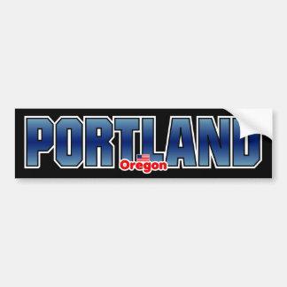 Parachoque de Portland Pegatina Para Auto