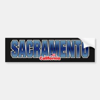 Parachoque de Sacramento Etiqueta De Parachoque