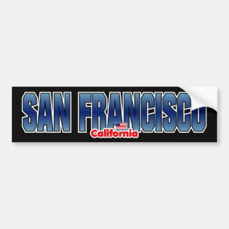 Parachoque de San Francisco Pegatina Para Auto