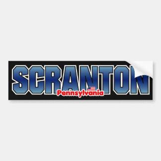 Parachoque de Scranton Pegatina Para Auto