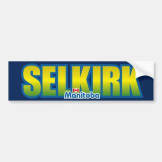 Parachoque de Selkirk Etiqueta De Parachoque
