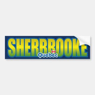 Parachoque de Sherbrooke Etiqueta De Parachoque