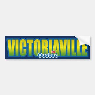 Parachoque de Victoriaville Pegatina De Parachoque