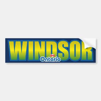 Parachoque de Windsor Pegatina De Parachoque