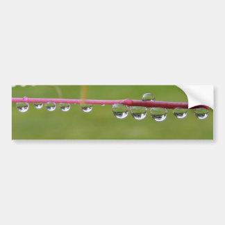 Parachoque del ~ de las gotitas etiqueta de parachoque