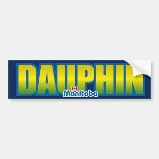 Parachoque del delfín pegatina de parachoque