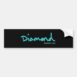 PARACHOQUE del diamante Etiqueta De Parachoque