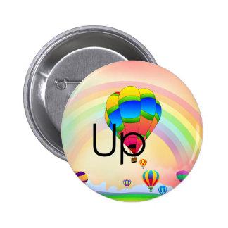 Parachoque del globo de la CAMISETA Pin Redondo 5 Cm