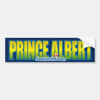 Parachoque del Príncipe Alberto Etiqueta De Parachoque