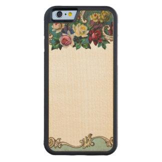 Parachoque floral adaptable REBELDE RETRO del Funda De iPhone 6 Bumper Arce
