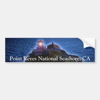 Parachoque nacional de CA del faro de la costa de  Pegatina Para Auto