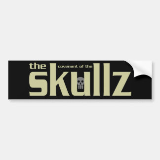 Parachoque Skicker de Skullz Pegatina De Parachoque