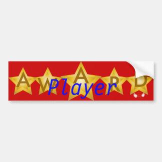 Parachoque Sticker-Cust. del premio de las estrell Etiqueta De Parachoque