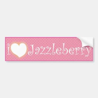 Parachoque Sticker_Jazzleberry.ai Pegatina Para Auto