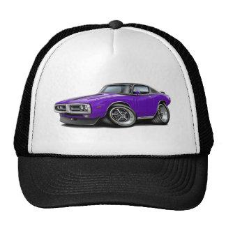 Parachoque superior Púrpura-Negro 1971-72 del crom Gorra