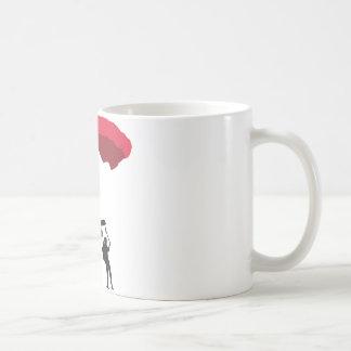 parachute 3c coffee mug