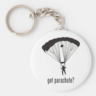 Parachute Basic Round Button Keychain