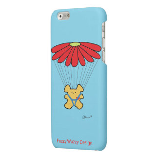 """Parachute Bear"" Matte iPhone 6 Case"