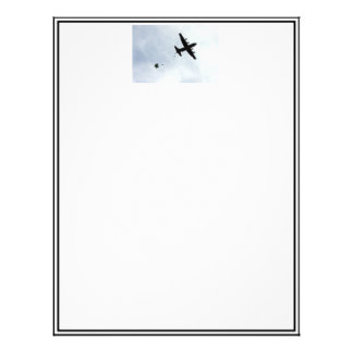 Parachute Drop EC-130H Compass Call Letterhead