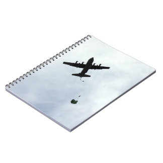 Parachute Drop EC-130H Compass Call Notebook