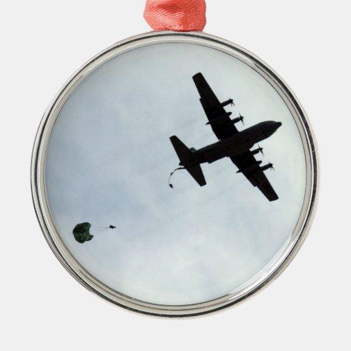 Parachute Drop EC-130H Compass Call Ornaments