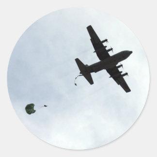 Parachute Drop EC-130H Compass Call Sticker