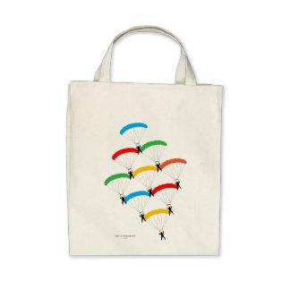 Parachute Formation Canvas Bag