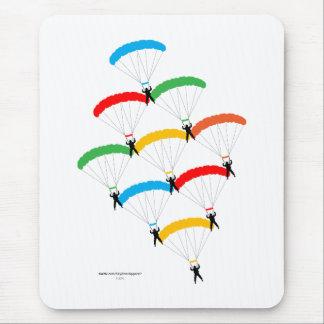 Parachute Formation Mousepad