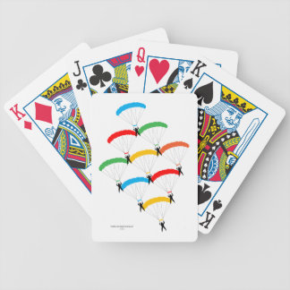Parachute Formation Poker Cards