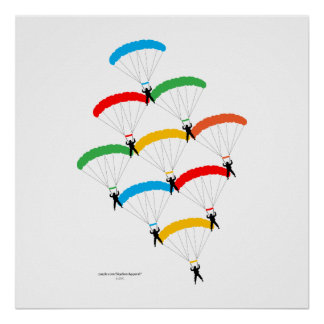 Parachute Formation Posters
