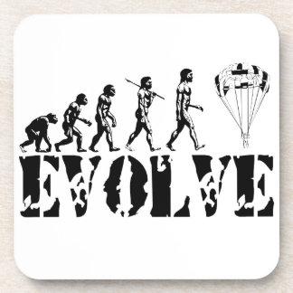 Parachute Fun Sport Evolution Art Coaster