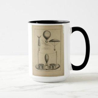 Parachute Illustration Mug