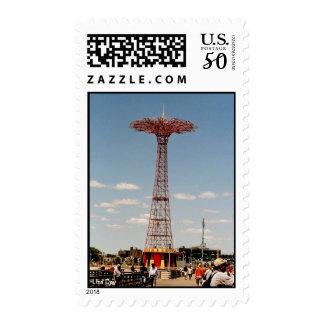 Parachute Jump (Coney Island, NY) postage
