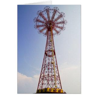 Parachute Jump - Coney Island, NYC card