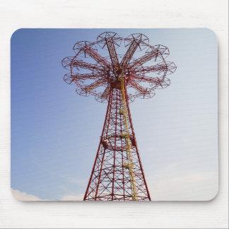 Parachute Jump - Coney Island, NYC mousepad