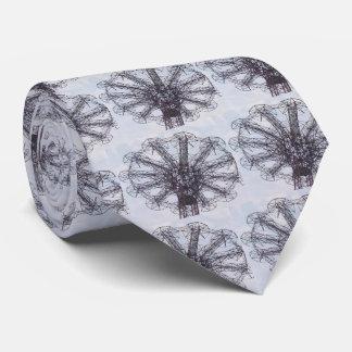 Parachute Jump Tie (Blue/Black)