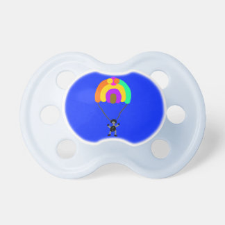 parachute on baby pacifier